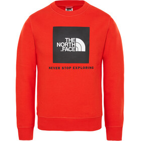 The North Face Box Midlayer Children red